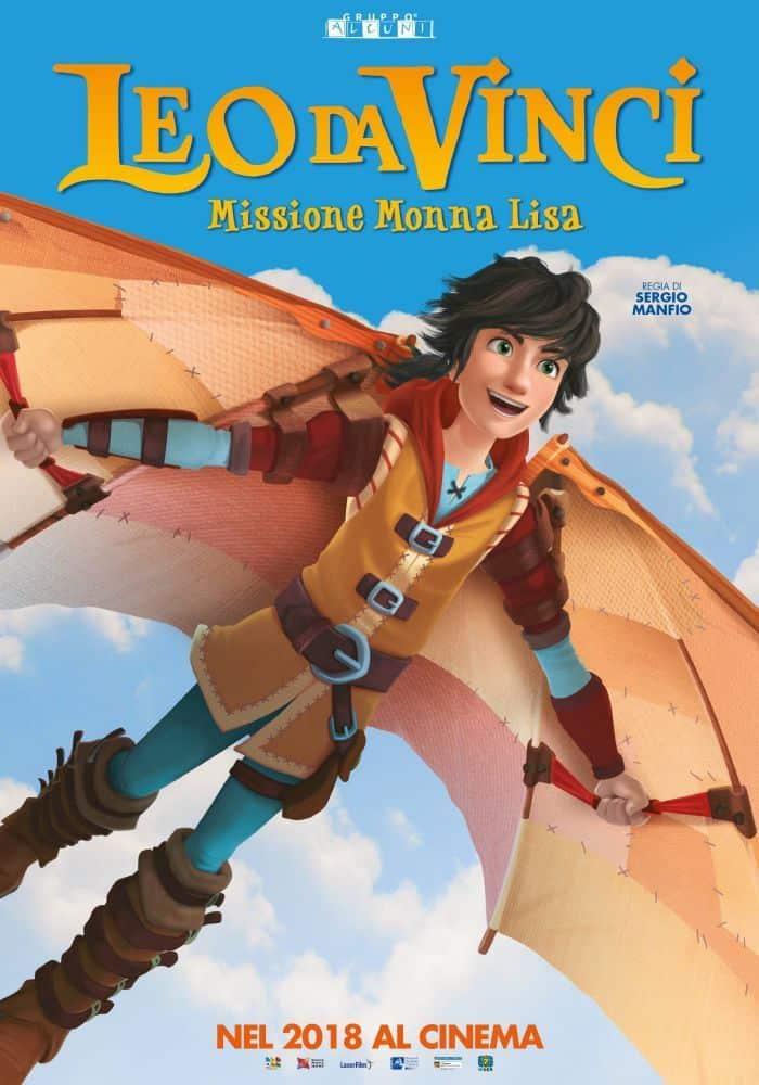 """Locandina del film """"Leo Da Vinci - Missione Monna Lisa"""""""