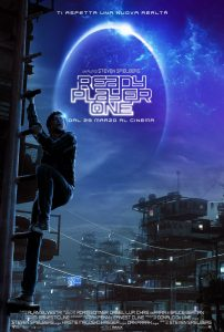 "Locandina del film ""Ready Player One"""
